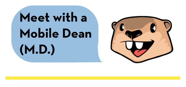 Mobile Dean Gopher
