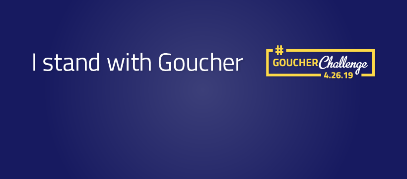 I Stand With Goucher