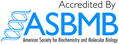 Accredited by ASBMB