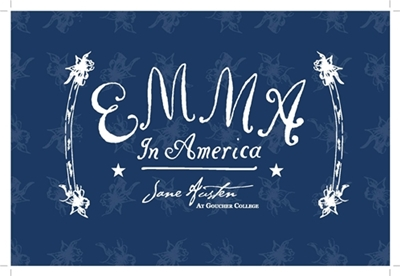 Emma in America postcard