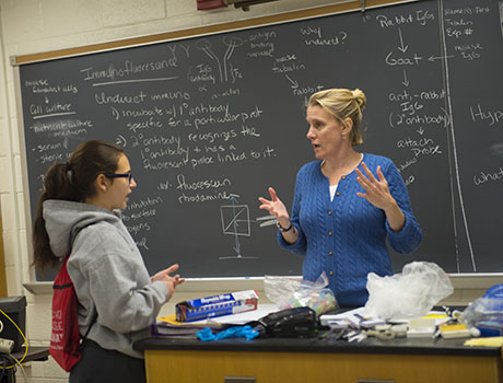 Image associated with Goucher's New Curriculum Featured in Inside Higher Ed news item