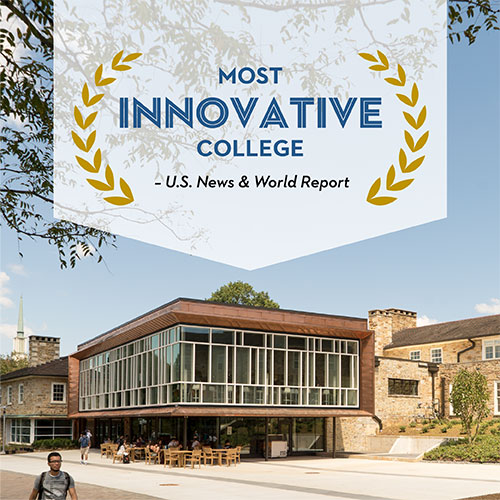 Image associated with Goucher named one of the Most Innovative Schools by U.S. News & World Report news item