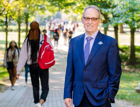 Image associated with President Devereaux shares his vision for Goucher's future news item