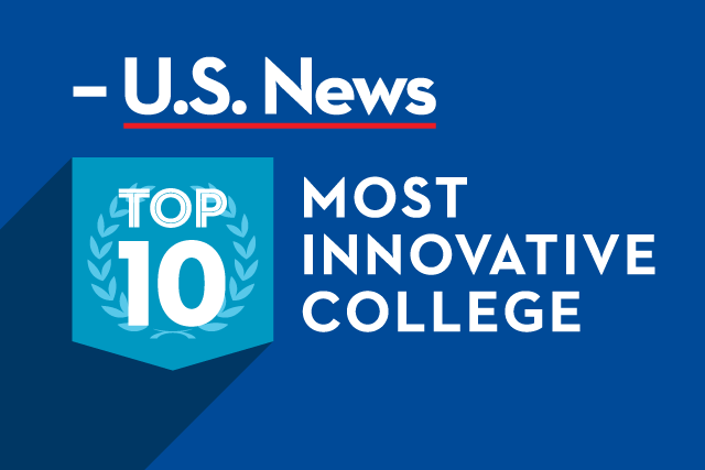 U.S. News Top 10 Most Innovative College